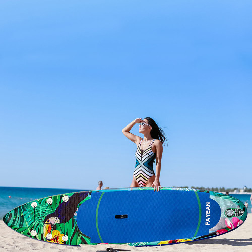 Inflatable Stand Up Paddle Board-Parrot