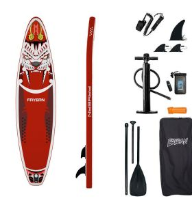 Inflatable Stand Up Paddle Board-Tiger