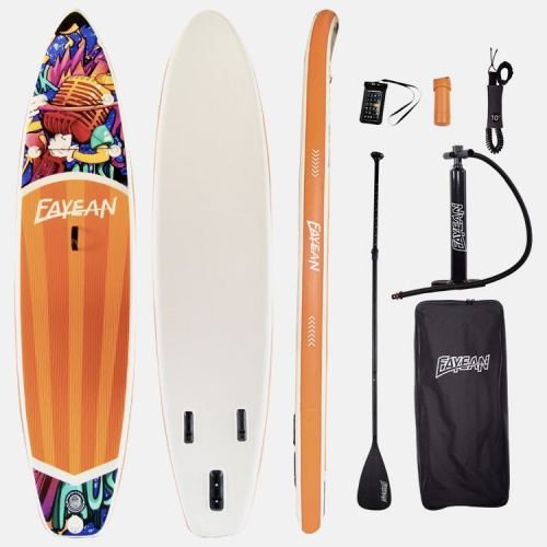 Inflatable surfing board Stand Up Paddle Board-microphone