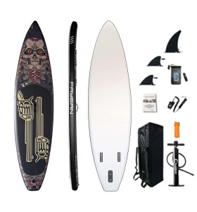 Inflatable Stand Up Paddle Board-GUN AND ROSE