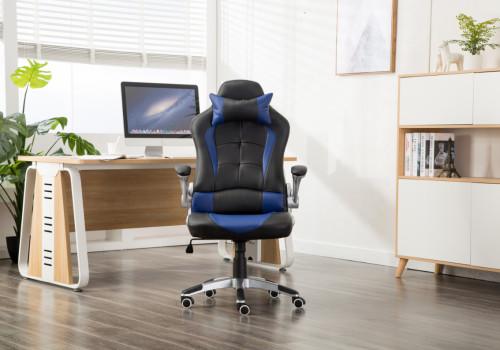 Cheap Ergonomic Gamer Office Chair Racing Gaming Chair Blue- 001