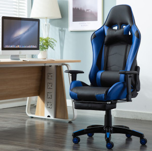 hiqh quality gaming chair for office comfortable gaming chair blue-004