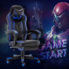 China Factory High Quality Back Gaming Chairs of  Racing 006 Blue