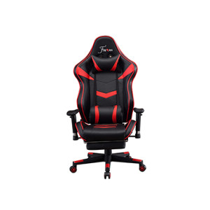 Ergonomic Backrest  High Quality Back Gaming Chairs of  Racing 005 Red