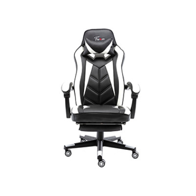 China Factory High Quality Back Gaming Chairs of  Racing 006 white