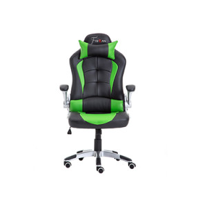 Cheap Ergonomic Gamer Office Chair Racing Gaming Chair green- 001