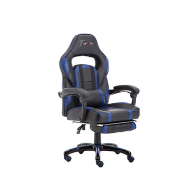 Hiqh Quality Cheap Ergonomic Gamer Office Chair Racing Gaming Chair blue- 002