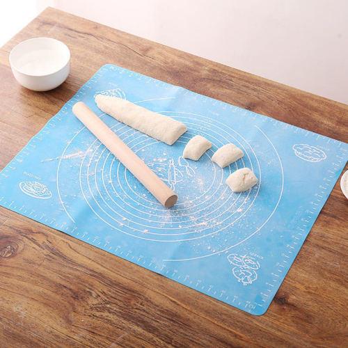 silicone dough mat Custom non-slip soft bbq oven kneading dough Silicon Baking Mat Silicon Pastry Mat
