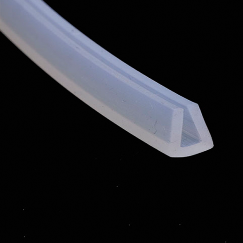 Custom silicone extrusion for led strip/Silicone Sleeve Extrusion
