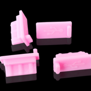 silicone usb dust cover Type A/C,silicone plug cover