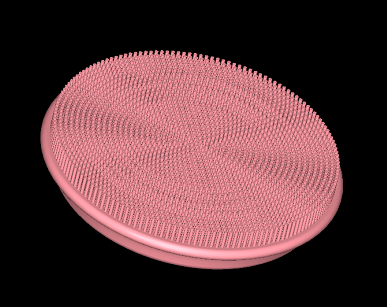 Silicone face brush soft hair cleaner