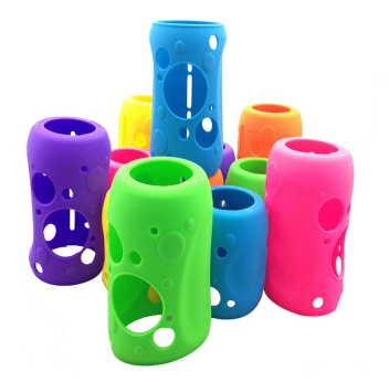Custom Silicone Rubber Sleeve for cup for mug or bottle.