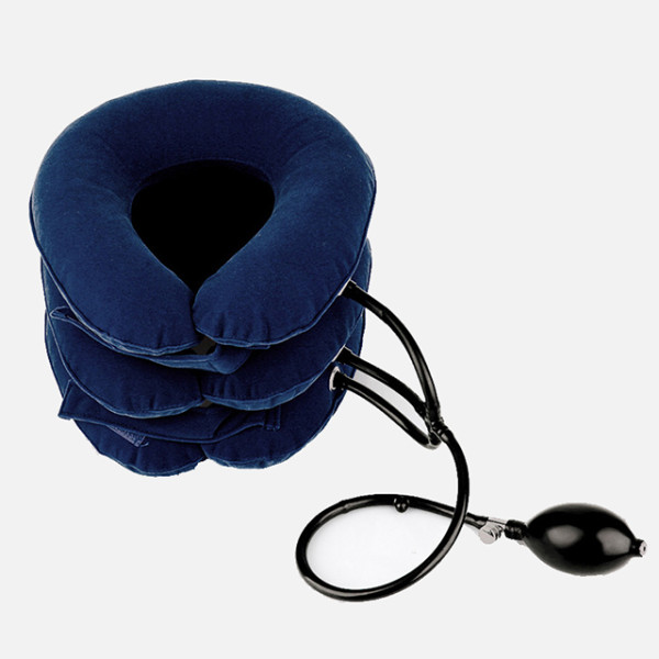 Best selling product Medical Equipment 3 Layers Air Neck Traction Relive Pain Neck Traction Device