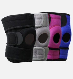 Comfortable breathable neoprene sports knee brace sports knee brace belt
