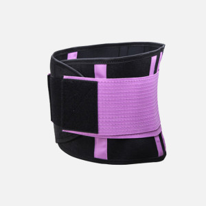 Hot Selling waist support belt trimmer lumbar support neoprene waist trainer for woman