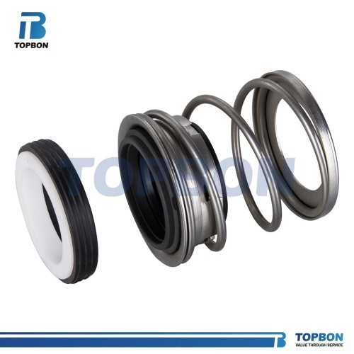 TB2 Elastomer Mechanical Seal replace John Crane 2 type seal, Aesseal P0204U seal