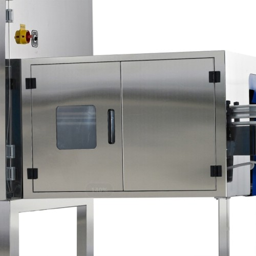 X-ray machine that can inspect the inside of glass