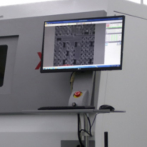 High resolution X-ray inspection system