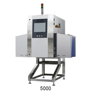 Röntgenprüfung des Metall-Kunststoffbehälters