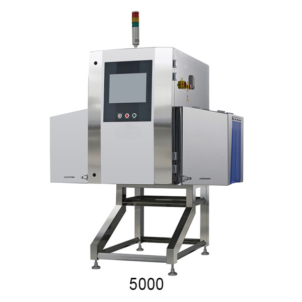 Metal plastic container type X-ray inspection