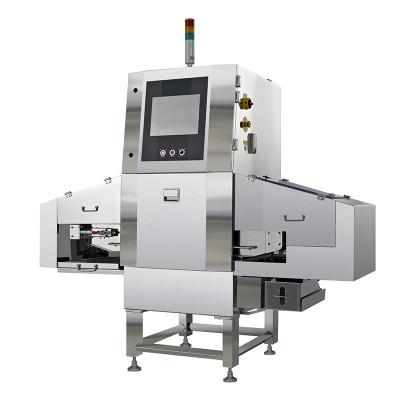 X-ray machine capable of detecting bulk food