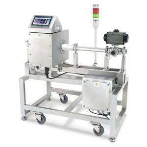 Rohrmetalldetektor zur Erkennung von Flüssigkeit