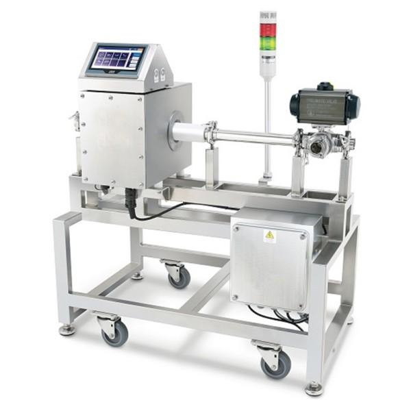 Détecteur de métaux pour tuyaux capable de détecter le liquide