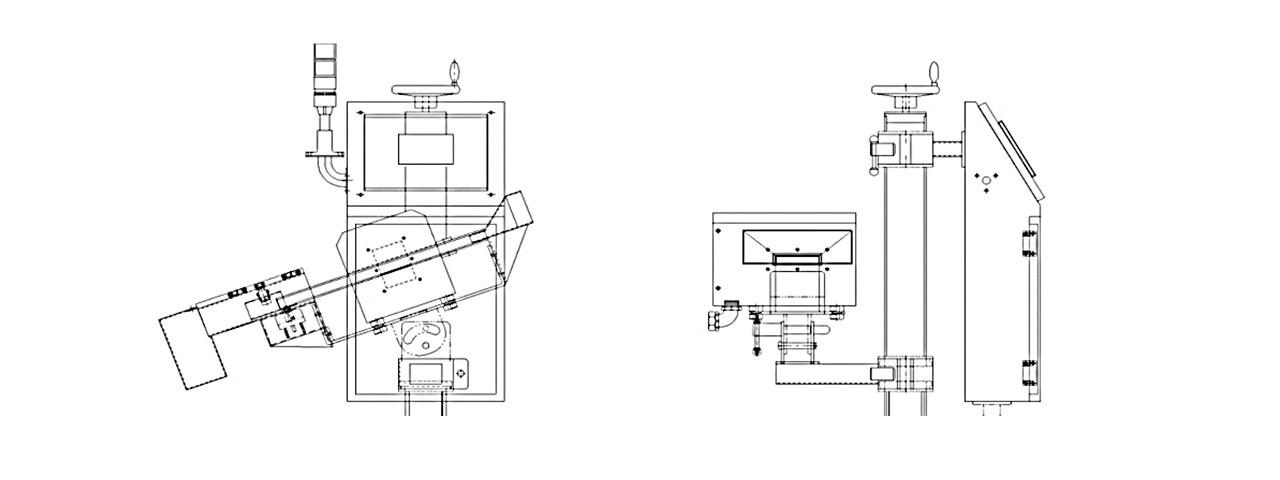 Metal Detector Machine Size Chart