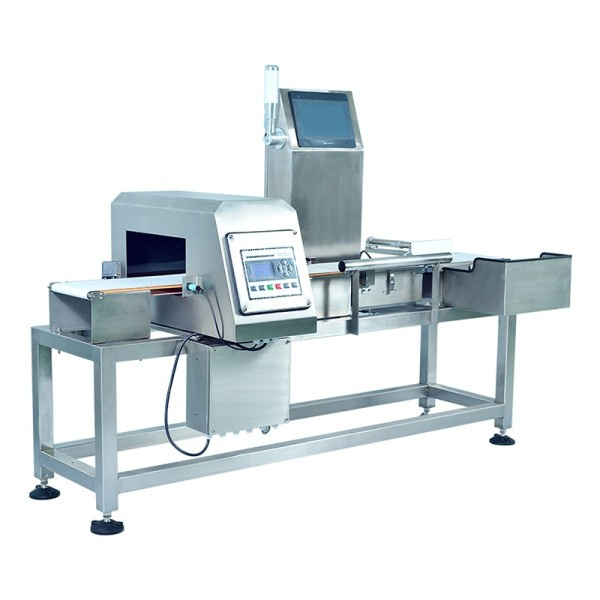 Checkweigher metal detector combination