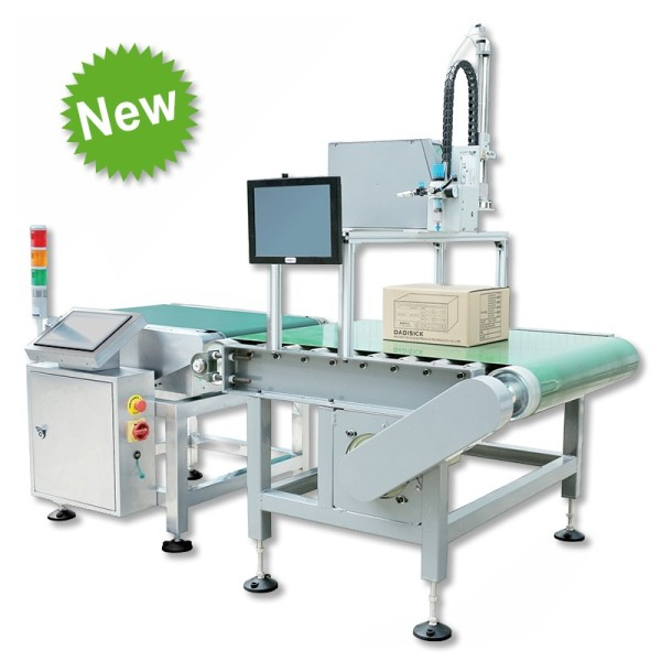 Labeling automatic checkweigher