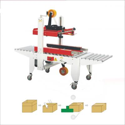 Manual folding and sealing machine