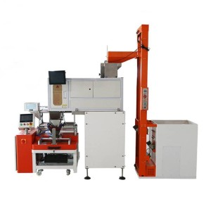 Visual counting packaging machine
