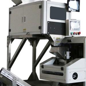 自動給餌機+計数機+チューブフィルム包装機