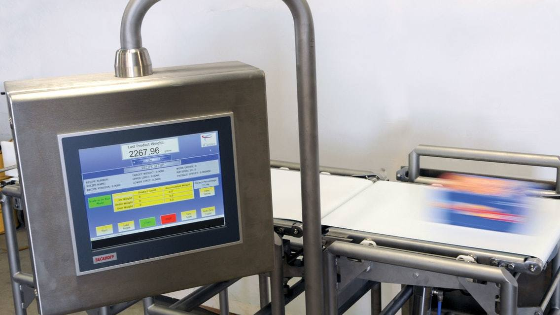 Correctly calibrating the accuracy of the checkweigher can improve the accuracy of the product