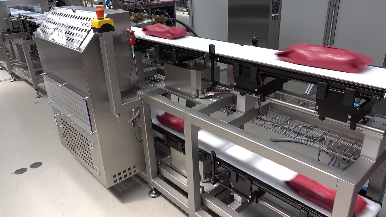 the precautions for the calibration setting of the checkweigher