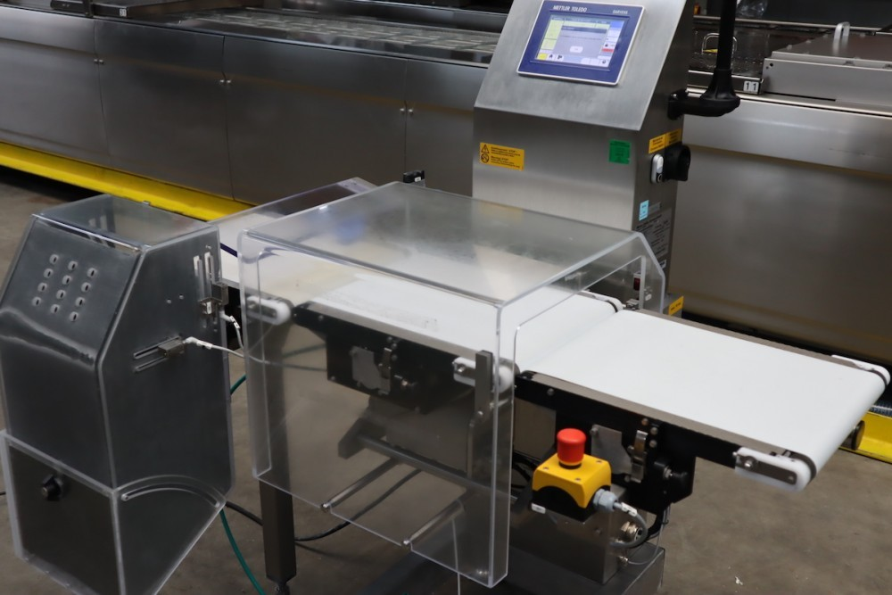 the seven steps of automatic checkweigher operation