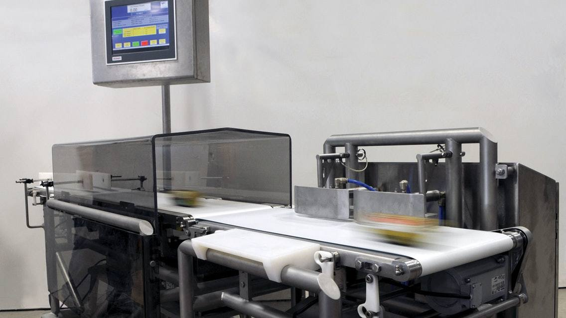 4 components of automatic checkweigher