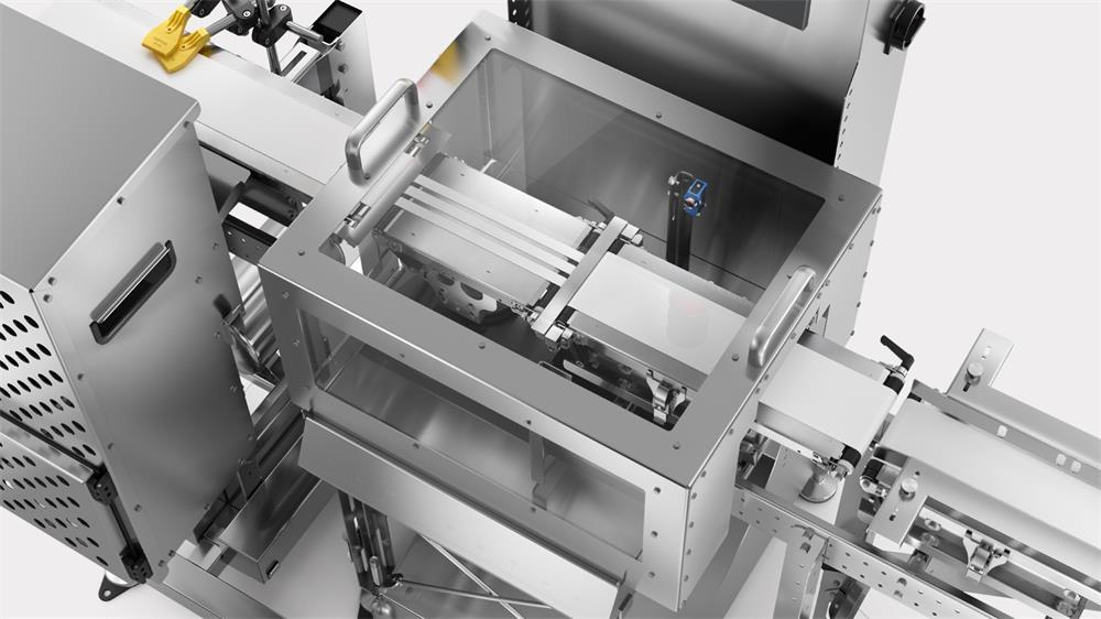 steps and precautions for using the automatic checkweigher