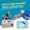 120mm Face Shield Elastic Belt Cutting Punching Machine 25000 pcs per hour