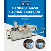 In stock Full automatic tie on medical and hospitbal mask making machine