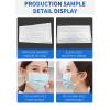 High speed Inner Ear loop Edging Medical Hospital Face Mask Machine-100~120 PCS/MIN