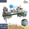 Automatic Mask Machine with ear loop folding device and packing machine 80-100pcs per min