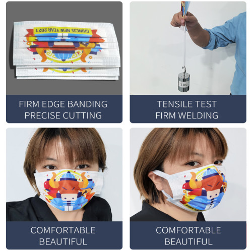 In stock Positioning Elastic band Kids And Adult Mask Machine With The Rectifying Device