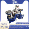 Physical installation of breathing valve welding machine for KN95 , 3M mask, cup masks , fish masks
