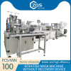 1+1 KF94 fish mask machine with rectifying device  100-120PCS/MIN