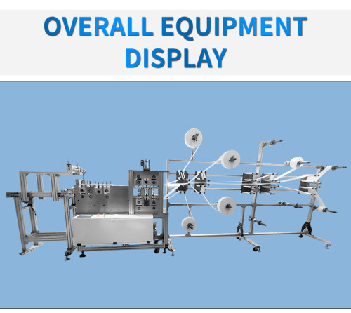 High speed 3D automatic mask machine 200-300pcs per min
