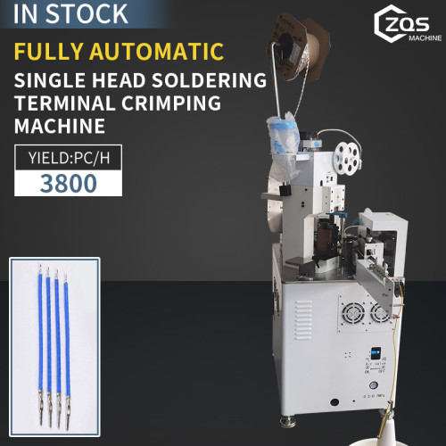 Fully automatic Single head immersion tin terminal machine