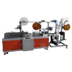fully automatic double nose bridge positioning mask body making machine 120-200 pcs per min