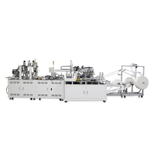 Fully Automatic 3M cup Mask making machine with ear loop welding machine