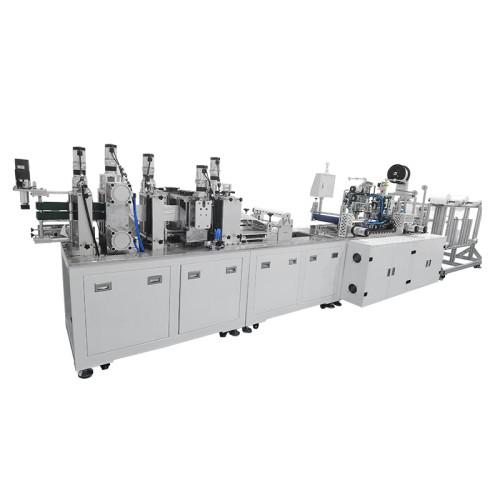 New update automatic 19pcs servo motor KN95/N95/KF94 2D  mask machine 100-130pcs/min